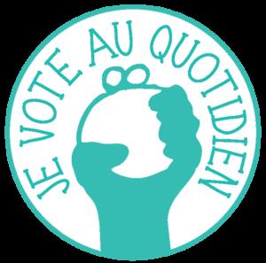 Logo je vote au quotidien